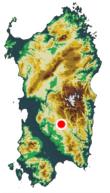 Posizione Geografica Serri
